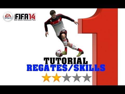 FIFA 14 - TODOS LOS REGATES / ALL SKILLS (1* & 2*)