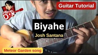 Guitar tutorial: Biyahe (Josh Santana) chords - Qing Fei De Yi OST Meteor Garden