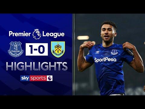 Calvert-Lewin scores late diving header winner | Everton 1-0 Burnley | Premier League Highlights