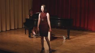 """Mary Kate Hughes - """"Let Yourself Go"""" (ALL SHOOK UP)"""