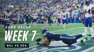 2019 Week 7: Seahawks vs Ravens Recap