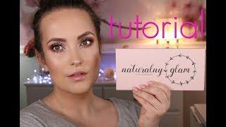 Delikatny, dzienny, glam makijaż - paleta NaturalnyGLAM
