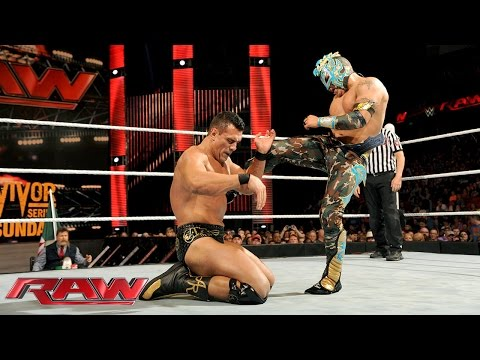 Kalisto Vs. Alberto Del Rio – WWE World Heavyweight Championtitel Turnier: Raw – 16. November 2015