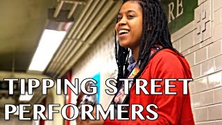 Repeat youtube video Tipping Street Performers