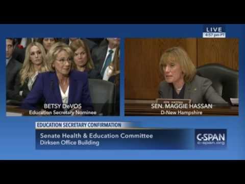 Betsy DeVos on Special Needs programs