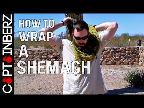 How to Wrap / Tie a Shemagh (HD)