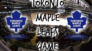 VLOG- Toronto Maple Leafs Game [HD] Thumbnail