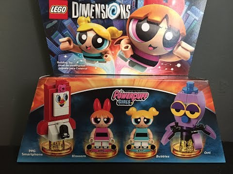 Powerpuff Girls Team Pack Lego Dimensions Unboxing & Building