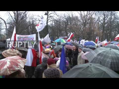 Poland: Thousands decry planned reforms to judiciary and local elections in Warsaw