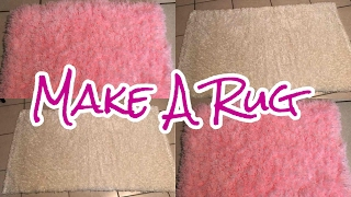 How To Make A Rug | DIY TUTORIAL