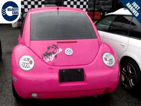 Vancouver Velocity Cars - BC - 1999 Volkswagen New Beetle 95K's Unique Barbie Edition Hot-Pink ...