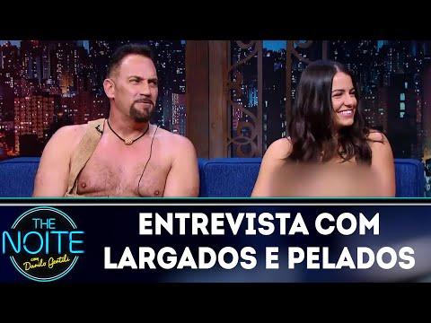 Entrevista com Largados e Pelados  The Noite 200318