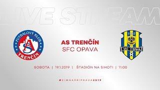 ASTV LIVE   AS Trenčín - SFC Opava   Prípravný zápas