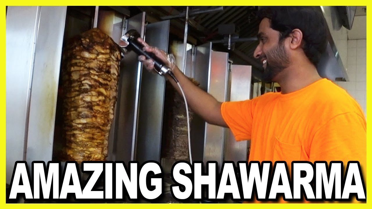 Chicken Shawarma Wrap Review at Amazing Shawarma in Scarborough