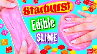 DIY Edible Starburst Slime! Make Yummy Slime!