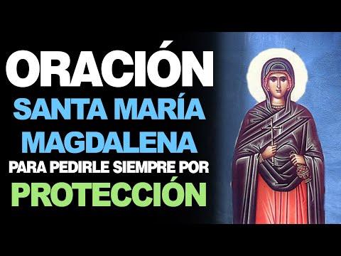🙏 Oración Poderosa a Santa María Magdalena PARA PEDIR PROTECCIÓN 🙇♂️