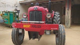 किसानों के शौक MASSEY 35 ट्रैक्टर क्या शौक से बना रखा है