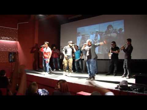 From the basements of Sutka to conquering the world: Sutka Roma Rap at TEDxSkopje 2.0