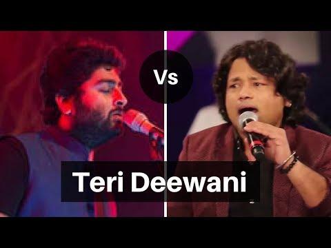 Arijit Singh vs Kailash Kher - Teri Deewani Live