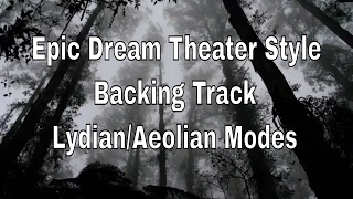 Video Epic Dream Theater Backing Track, Db Lydian/A Minor/E Minor download MP3, 3GP, MP4, WEBM, AVI, FLV November 2018