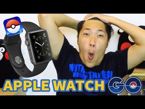 【Pokemon GO】Apple Watch 也可以玩寶可夢!?