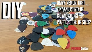 DIY: How to Pİck Your Guitar Pick