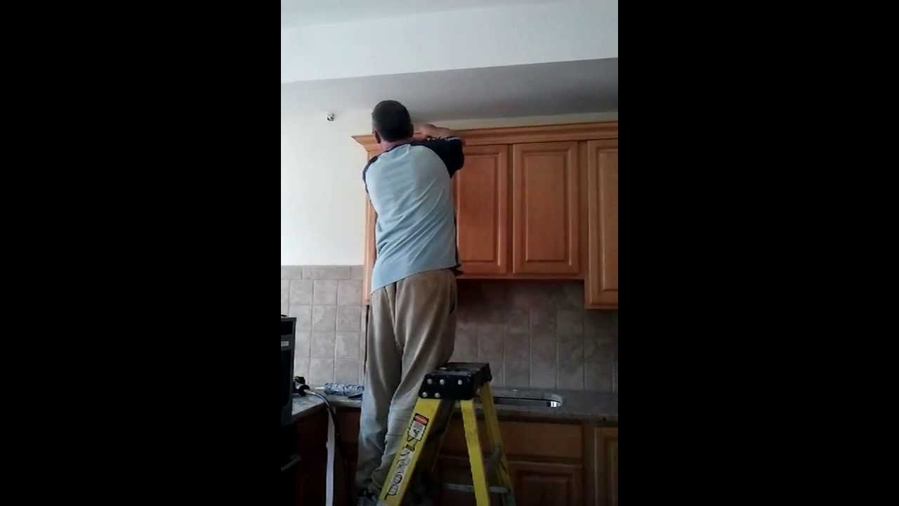 Interior Cabinets Repair how to repair kitchen cabinets youtube
