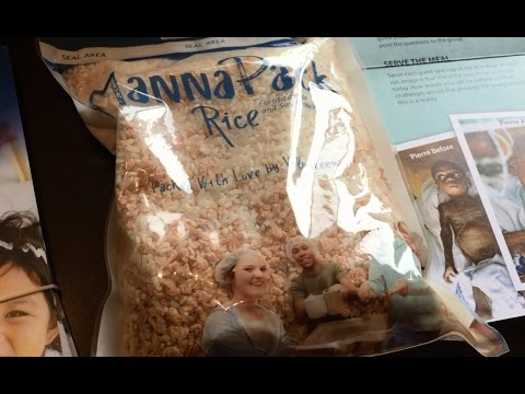 What the Feed My Starving Children MannaPack Rice meal tastes like