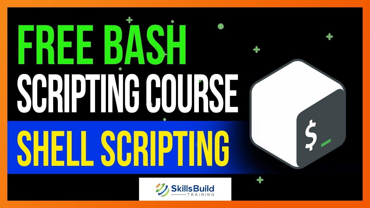 Bash Shell Scripting Tutorial 🔥 Shell Scripting Crash Course 👍 Linux Training