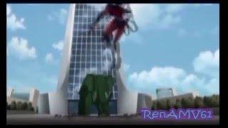 Justice League vs Teen Titans Damian/Raven_BB/Raven AMV- Armor