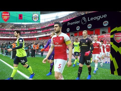 Arsenal vs Huddersfield - Premier League 8 December 2018 Gameplay Mp3