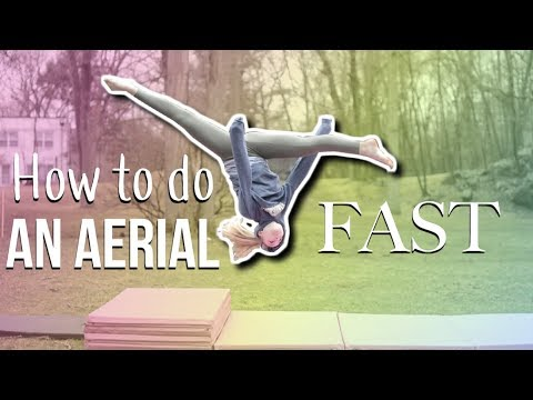 How to do an aerial UPDATED tutorial!
