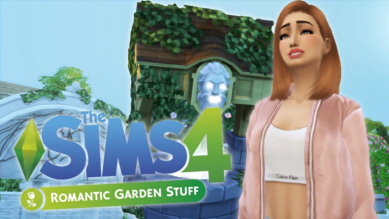 Test les sims 4 jardin romantique fr youtube for Sims 4 jardin romantico