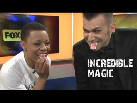 Joel Meyers: TV Interview and Incredible Magic