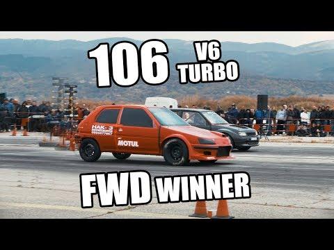 Peugeot 106 V6 Turbo Wins FWD Class | Autokinisimag