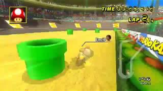 Mario Kart Wii - Luigi Circuit (200cc BKT) - 46.566