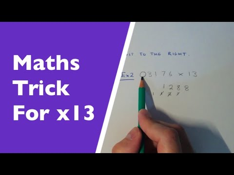 13 Times Tables Maths Trick – Multiply Any Number By 13 Without ...
