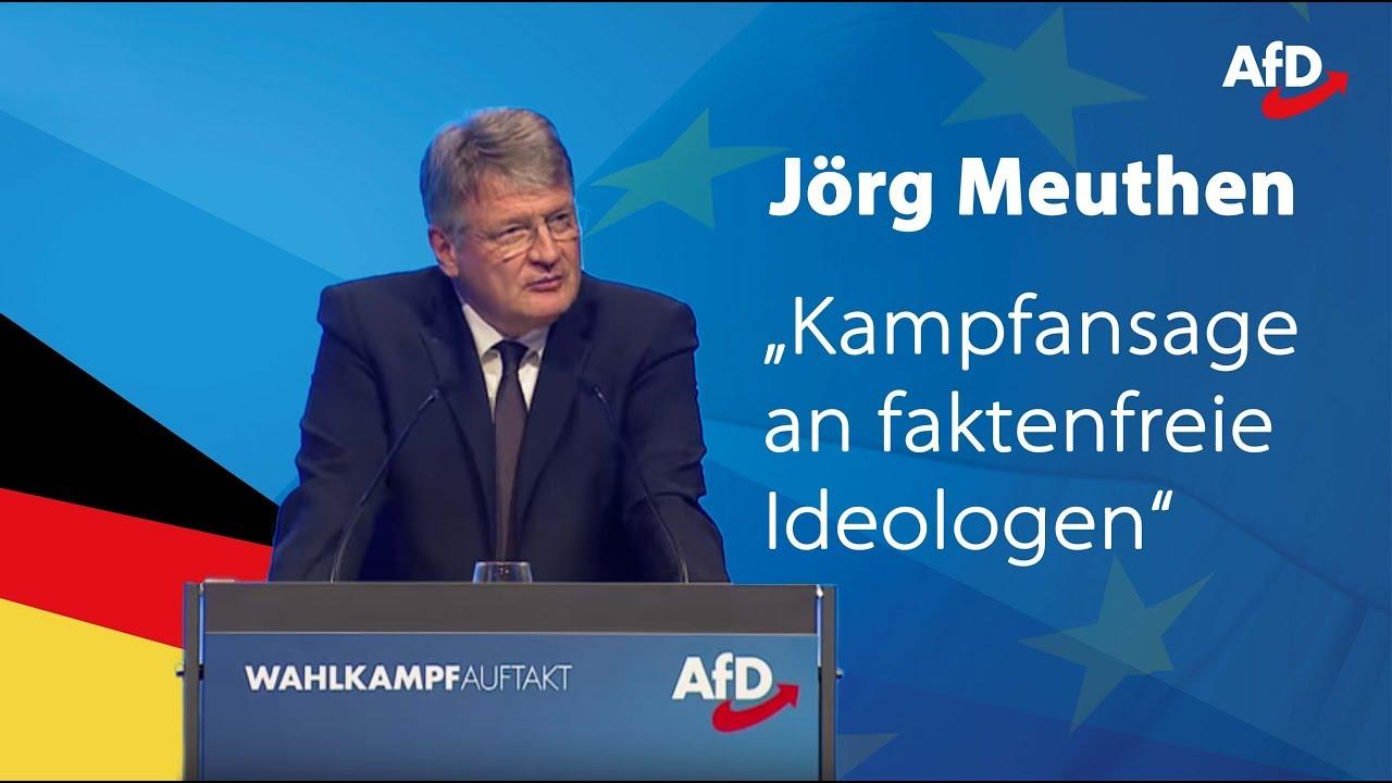 """Jörg Meuthen: """"Absurdes Wahlprogramm der Grünen!"""""""