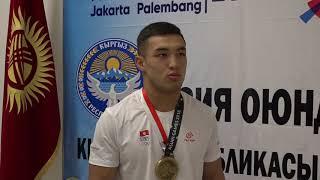 видео Три медали выиграли казахстанские борцы в первый день чемпионата Азии