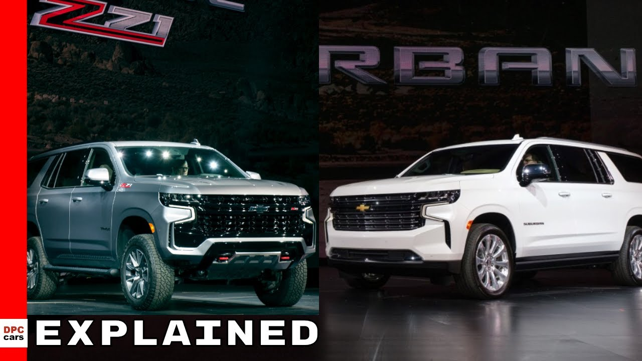2021 Chevrolet Tahoe & Suburban Explained - YouTube