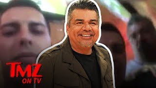 George Lopez Punches Donald Trump Troll! | TMZ TV