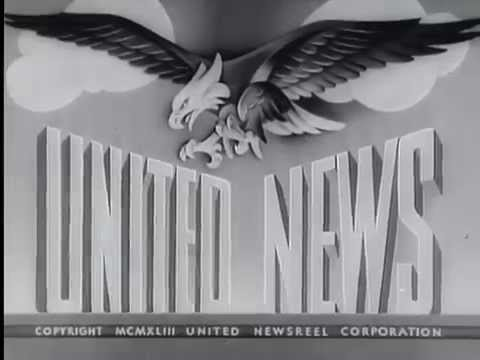 United News Canada in World War II Newsreels