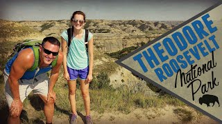 Theodore Roosevelt National Park - Buffalo Encounter (Vlog/Park #26)