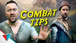 Overwhelming video game tutorials - Combat Tips