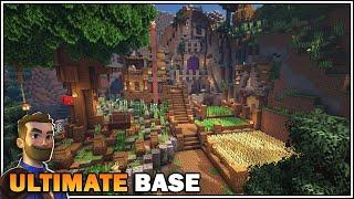 Minecraft Timelapse: THE ULTIMATE MEDIEVAL SURVIVAL BASE [World Download]