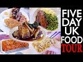 AMERICANS EAT UK FOOD (5 DAY FOOD TOUR)! | The Postmodern Family EP#29