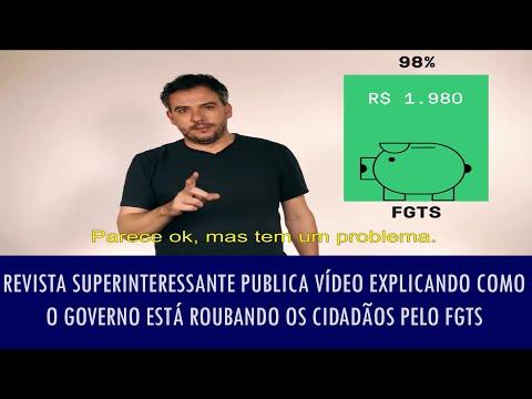 Superinteressante publica vídeo explicando como o governo está roubando os cidadãos pelo FGTS