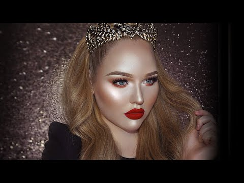 Thumbnail: FULL FACE USING ONLY HIGHLIGHTERS Challenge | NikkieTutorials
