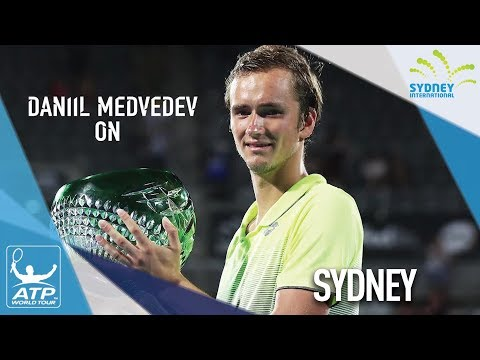 Medvedev Reflects On His Maiden ATP World Tour Title In Sydney