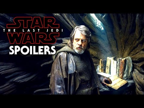 Star Wars The Last Jedi Spoilers Of Luke! His Discoveries & More!
